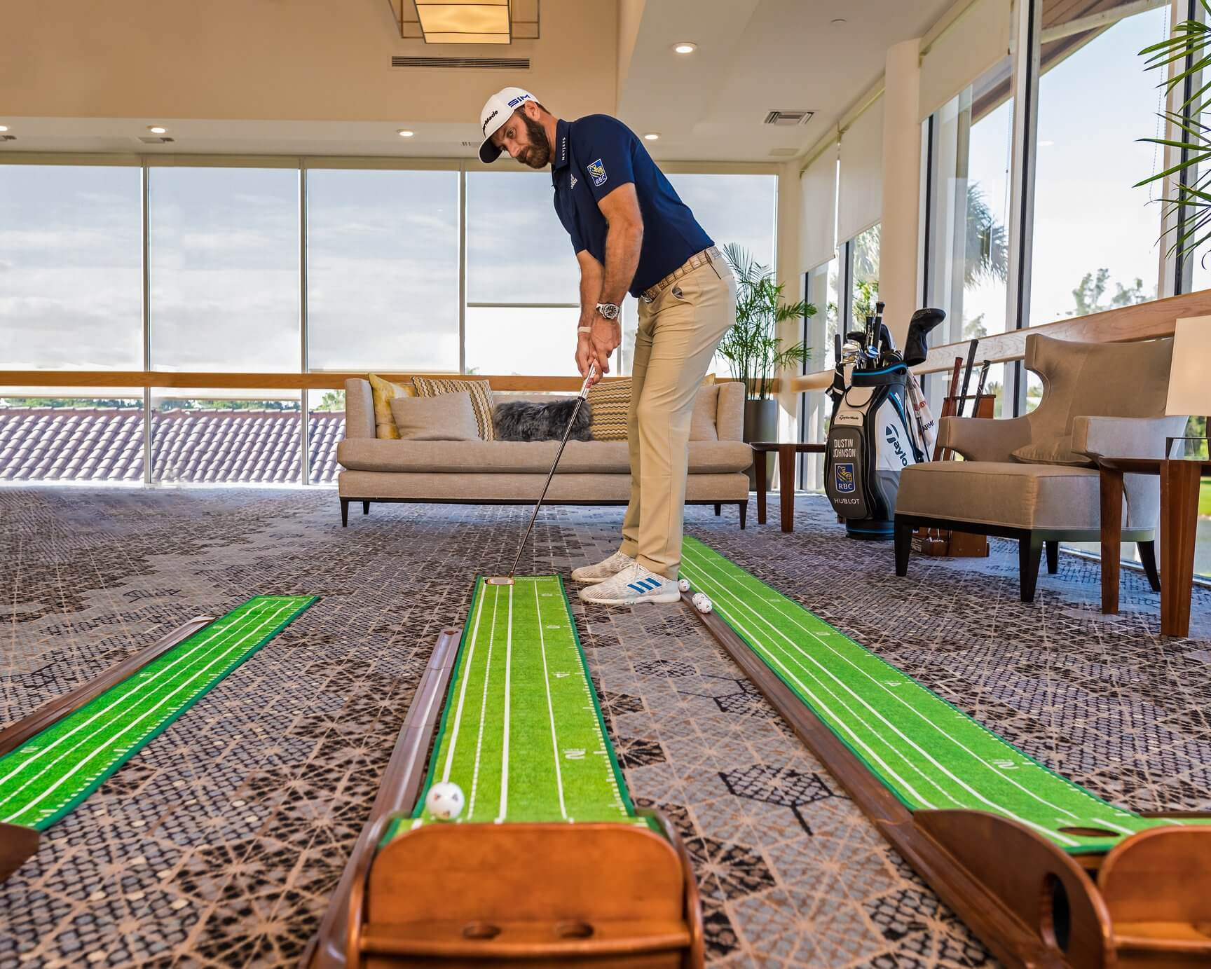 How to Get Better at Golf - Perfect Practice Putting Mat